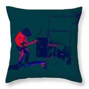 Aerosmith In Spokane 23e Throw Pillow