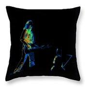 Aerosmith In Spokane 30b Throw Pillow