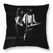 Aerosmith In Spokane 32 Throw Pillow
