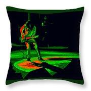 Aerosmith In Spokane 33d Throw Pillow