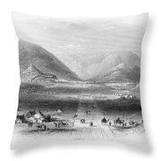 Afghan War 1839-1842. For Licensing Requests Visit Granger.com Throw Pillow