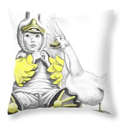 Aflac Baby Duck Throw Pillow