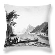 Africa: Cape Of Good Hope Throw Pillow