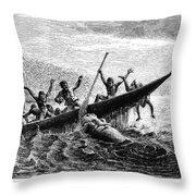 Africa: Exploration Throw Pillow