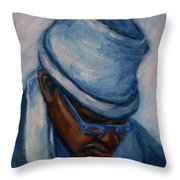 African American 1 Throw Pillow