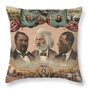 African Americans, C1881 Throw Pillow