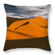 African Dunes Throw Pillow