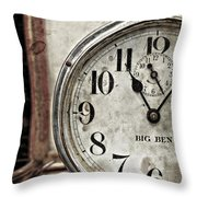 After Eleven  Throw Pillow
