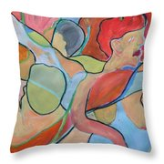 After Picasso Throw Pillow