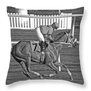 After The Crossing  Throw Pillow