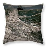 After The Hurricane Cape Cod Throw Pillow