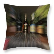 After The Party Throw Pillow