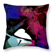 After The Race Is Won Throw Pillow