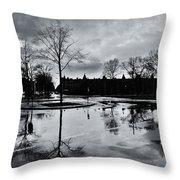 Den Haag After The Rain Throw Pillow