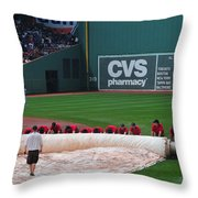 After The Rain Delay Throw Pillow