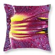 After The Shower Throw Pillow