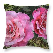 After The Summer Rain Watercolor Throw Pillow