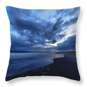 Afterglow On Fire Island Throw Pillow