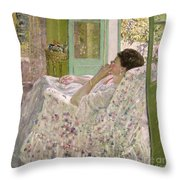 Afternoon - Yellow Room Throw Pillow