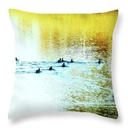 Afternoon Delights Throw Pillow