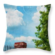 Afternoon In Paris Throw Pillow