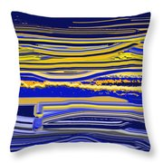 Afternoon Stretch Throw Pillow