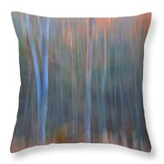 Afternoon Trees Throw Pillow