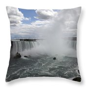 Against The Current Throw Pillow