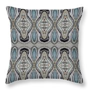 Agate-38e Border Tiled Throw Pillow