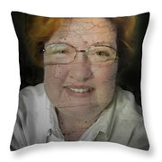 Ageing A Little Throw Pillow