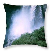 Agoyan Falls Throw Pillow