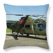 Agusta-westland A109 Throw Pillow