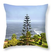 Ah...peru Throw Pillow