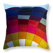 Air Balloon 1554 Throw Pillow