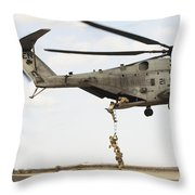 Air Force Pararescuemen Conduct Throw Pillow