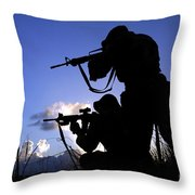 Air Force Security Forces Personnel Throw Pillow