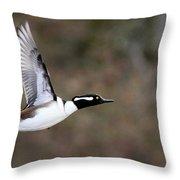Air Man Throw Pillow