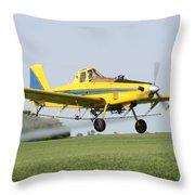 Air Plane  Throw Pillow