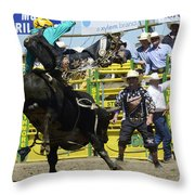 Rodeo Airborne Division Throw Pillow