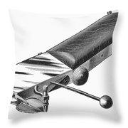 Airbrush, 1886 Throw Pillow