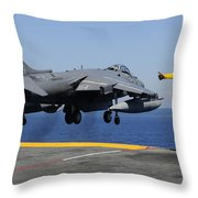 Airman Gives The Thumbs-up Signal As An Throw Pillow