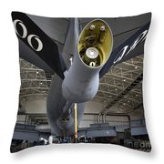 Airman Hand-washes The Centerline Throw Pillow