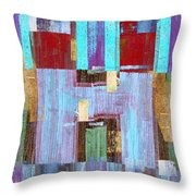 Aitch Throw Pillow by Carol Leigh