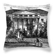 Alabama: Emerson College Throw Pillow
