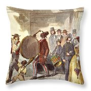 Alabama: Recruitment, 1861 Throw Pillow
