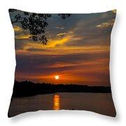 Alabama Sunset Throw Pillow
