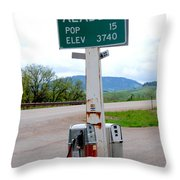 Aladdin Wyoming Throw Pillow by Susanne Van Hulst