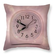 Alarrm Clock Throw Pillow by Bernard Jaubert