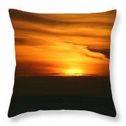 Alaska Sunset Throw Pillow