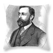 Albert Bierstadt (1830-1902) Throw Pillow